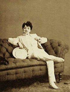 Miss Vesta Tilley 1864 -1952. Edwardian music hall performer famed for her crossdressing act