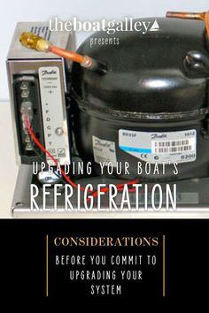 We added a refrigerator to our boat. Here's what you can learn from our experience. Boat Projects, Easy Projects, Refrigerator, Work On Yourself, Boats, Things To Think About, Change, Learning, Tips