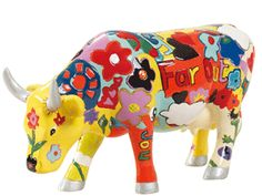 Cow Parade - Groovy Moo S47842