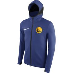 1fdf5bfe2c98 Golden State Warriors Nike Dri-FIT Men s Essential Team Crest Hoodie - Royal