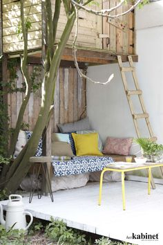 Modern treehouse, grownups deserve some fun as well!