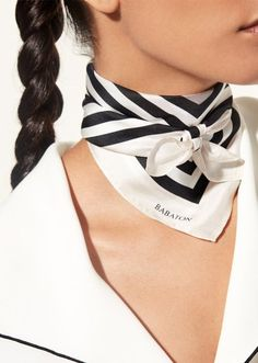The Best Neck Scarves for Spring | StyleCaster