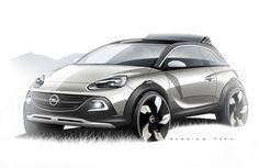 Genève 2013 : Opel Adam Rocks Concept, crossover ET découvrable