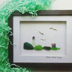 Image result for sea glass art