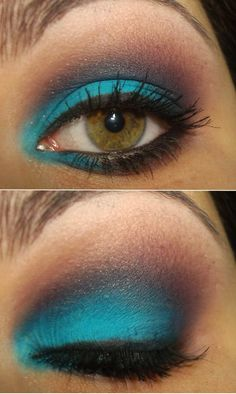 Sinful Aqua or Turquoise and Sally Girl Trio