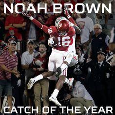 Noah Brown- amazing                                                                                                                                                                                 More