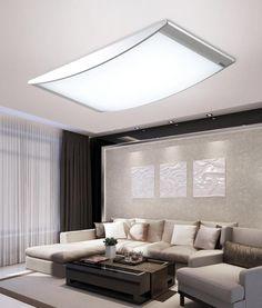 Details zu 96W LED Panel Led Deckenleuchte wohnzimmer Beleuchtung ...
