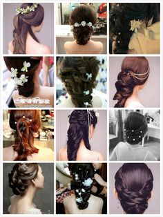 Hair styles, Hi, Just follow my board ◤hair and beauty◢ www.pinterest.com/ishowdress/hāir-běaυty for more pretty hair styles, and i will follow you back