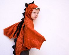 LOVE these! Do they come in grown up sizes?! Red Dragon Costume Halloween Monster Children by BeauMiracleForYou, $55.00