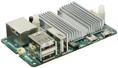 The ODroid.  A much faster alternative to the Raspberry Pi that runs Ubuntu Linux and Android OS.