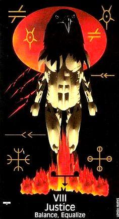 Crow's Magick Tarot ► Justice
