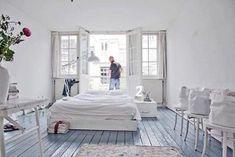 Witte vrolijke slaapkamer | Inrichting-huis.com