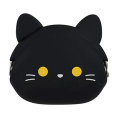 p+g design: Mimi Pochi Black Cat Coin Purse Crazy Cat Lady, Crazy Cats, Cute Coin Purse, Cat Bag, Purse Wallet, Stocking Stuffers, Purses And Bags, Coin Purses, Cat Lovers