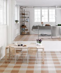 vct basket weave floor tile patterns - Google Search