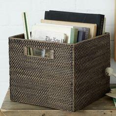 smartgirlstyle: Storage Bins: 11 Stylish Options