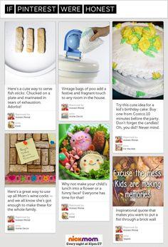 Honest Pinterest Looks Nothing Like Regular Pinterest