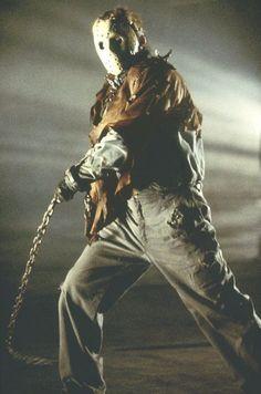 Kane Hodder stars as Jason Voorhees in New Line's Jason X - 2002