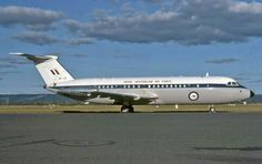 Perth Airport, RAAF BAC-111 gave long service as VIP transport with 34 Squadron. A12-124 at Perth in June 1979. Image Geoff Goodall
