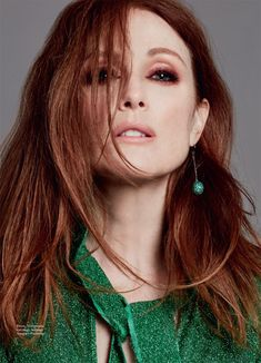 Julianne Moore is all smiles on the March 2016 cover of Marie Claire UK. Photographed by David Roemer (Atelier Management), the redhead actress wears a sequin embellished dress from Gucci's spring collection on the magazine's front. For the accompanying photoshoot, Julianne turns up the glam in other looks ranging from a floral embellished Prada coat …