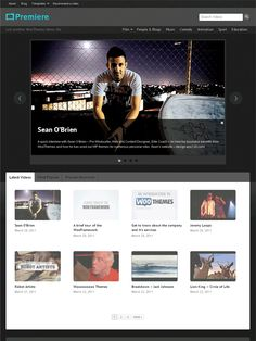 Premiere Wordpress Theme is specifically designed for video based websites. This wordpress video blogging Theme has custom post driven which will separate your video post from your blog content. Every single video post template comes with social sharing links, shows the related videos to the visitors. This is more suitable for videography and movie fans website alike.
