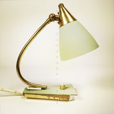 Little table lamp from the fifties.