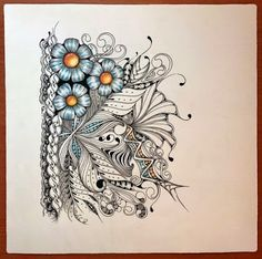 Creative Doodles: The Art of Zentangle. Zentangle and Zendoodle Inspiration using pattern Noom. Drawing ideas for creative and art projects.