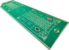 haftowana na suknie podwójna plansza do ruletki do domowego użytku :) rozmiar 480 cm x 160 cm. Istnieje możliwość zamówienia pojedynczej planszy. Double embroidered roulette board. Can order a single.
