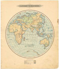 CELESTIAL CHARTS MAP SOLAR SYSTEM ORBITSDISTANCES MOONS - Printable antique world map