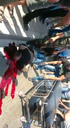 إطلاق نار وساطور ماذا حصل على طريق المطار - http://mtm.am/g3336