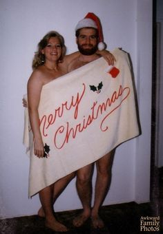Accidentally finding Mommy ****ing Santa Claus. | 21 Family Christmas Photos That Failed So Hard They Almost Won