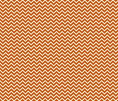 orange chevron fabric by thebline on Spoonflower - custom fabric   I really like this fabric I think orange could work for boy or girl