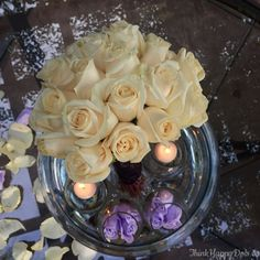 Valentines-day-flowers-Roses-floating-candle-centerpiece