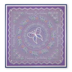 Tina's Floral Doodle Wreath A5 Square Groovi Plate (Set GRO-FL-40845-X – Claritystamp Embossing Tool, Floral Doodle, Parchment Cards, Clever Design, Plate Sets, Baby Cards, Flower Cards, Card Ideas, Card Making
