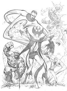 Fantastic Four vs Diablo