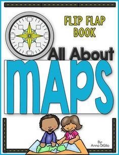 Map Skills Flip Flap Book