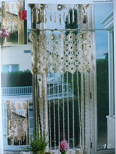 Crochet Curtains - diamondinapril - Picasa Webalbums