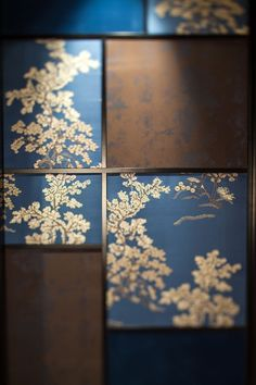 The VIP-room_Chinese fabric wall & Lighting Detail of Cantonese Fine Dining Restaurant by Kokaistudios Asian Interior Design, Chinese Interior, Asian Design, New Chinese, Chinese Style, Design Oriental, Chinese Fabric, Chinese Element, Oriental Fashion
