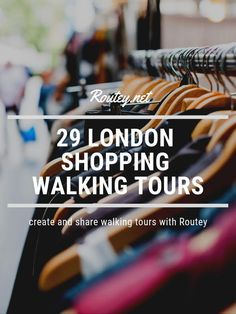29 of the best London Shopping Guides! Explore the best places to go shopping in… 29 of the best London Shopping Guides! Explore the best places to go shopping in London with Routey's unique self guided walking tour. London's best shopping spots! London Shopping, London Travel, Go Shopping, Musical London, London With Kids, Clapham Common, Highgate Cemetery, Things To Do In London, London Calling