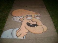 Herbert the Pervert in Chalk
