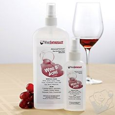 Wine B' Gone Ultra Stain Remover Set at Wine Enthusiast - $24.95