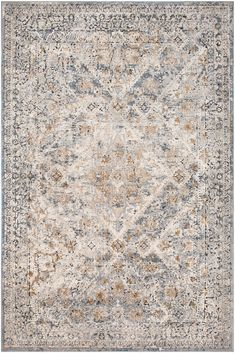 Surya Durham carpet – Area Rugs in living room Gray And Taupe Living Room, Taupe Bedroom, Master Bedroom, Traditional Area Rugs, Traditional Design, Room Rugs, Rugs In Living Room, Brown Floral, Grey Rugs