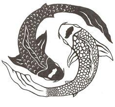 koi fish yin yang tattoo - Bing Images