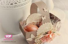 Lembrancinha de Páscoa: Faça uma cesta para Páscoa http://toplembrancinhas.com/cesta-para-pascoa/  #artesanato #pascoa