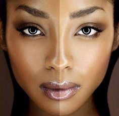 Natural Makeup and Beauty Tips for Black Women and women of color.