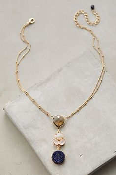 Rosaria Trio Pendant Necklace #anthropologie