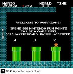 If Super Mario was made today.
