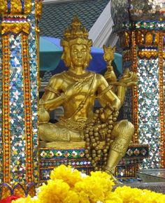 Brahmin Priests Hindu Gods Thaiand BOND STREET, ERAWAN SHRINE, GANESHA, HINDU DEITIES, HINDU TEMPLES, HINDUISM, HINDUISM THAILAND, THAILAND TEMPLES
