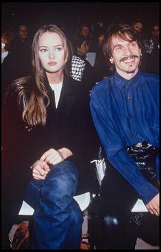 Vanessa Paradis et Florent Pagny au défilé Chanel printemps-été 1992 à Paris
