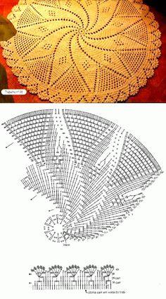 Image gallery – Page 510666045246606066 – Artofit Crochet Bookmark Pattern, Free Crochet Doily Patterns, Crochet Doily Diagram, Crochet Bookmarks, Crochet Motif, Crochet Designs, Diy Crochet Rug, Crochet Carpet, Crochet Dollies