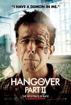 The Hangover Part II, Ed Helms as Stu